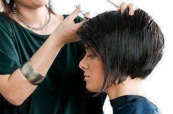 Ladies Short Haircut at Sharper Image Hair Salon - Red Deer