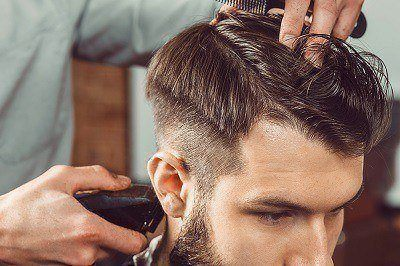 Men Haircut at Sharper Image Hair Salon - Red Deer