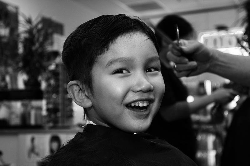 Kids Haircut at Sharper Image Hair Salon - Red Deer