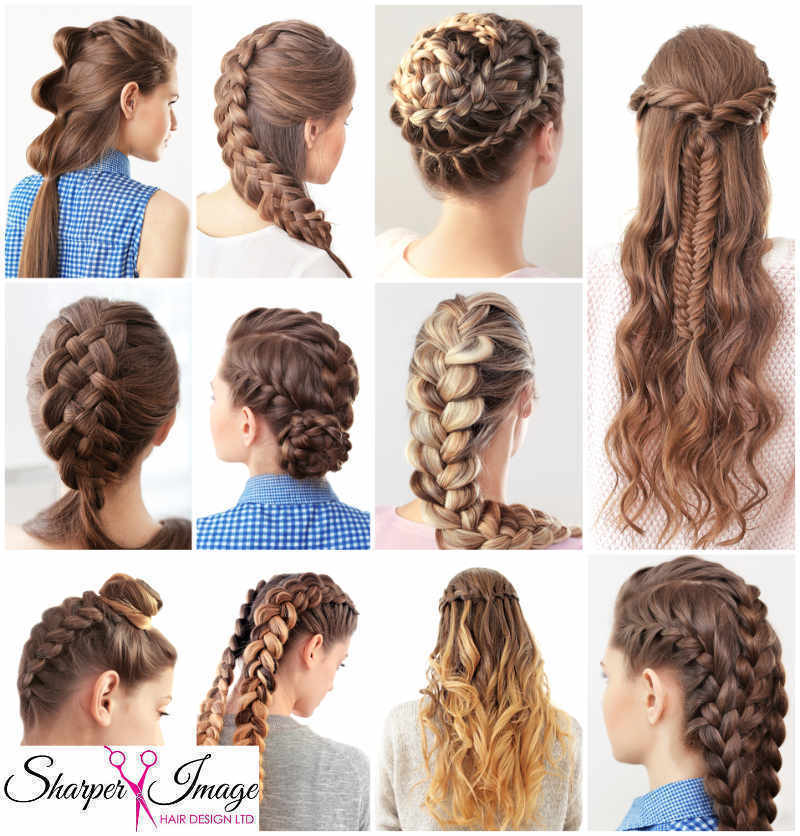 Braiding Class - Sept 5th at Sharper Image Hair Salon - Red Deer