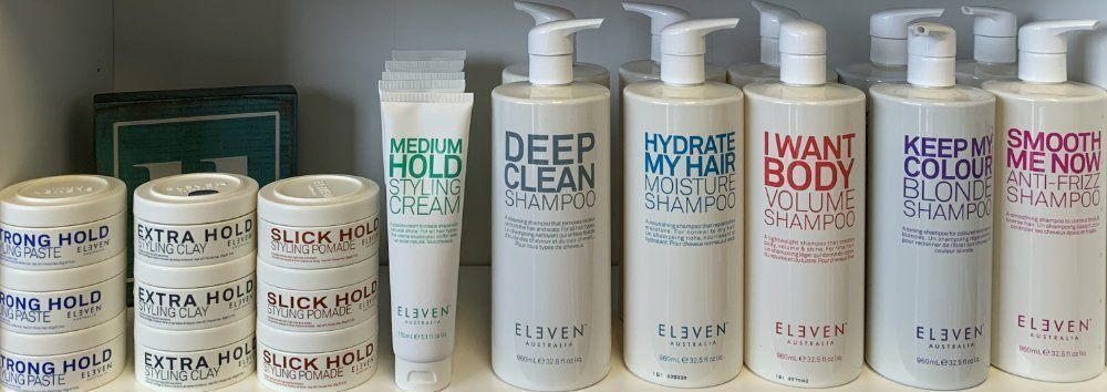 Eleven Australia Hair Care Products at Sharper Image Hair Salon
