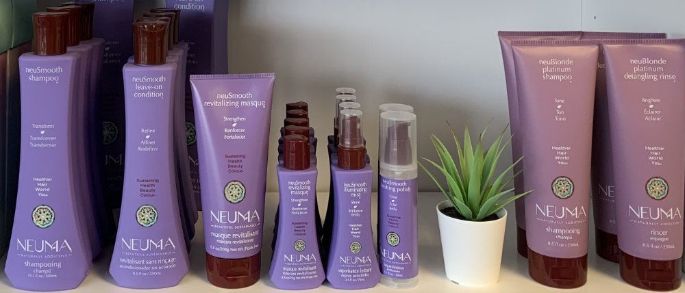 Neuma - neuSmooth and neuBlonde products at Sharper Image Hair Design