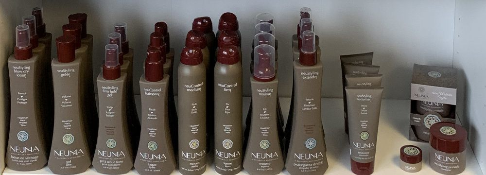 Neuma - neuStyling with neuControl products at Sharper Image Hair Design