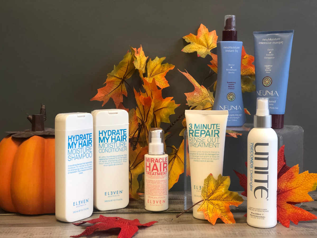 No Dry Hair This Fall by Sharper Image Hair Design in Red Deer
