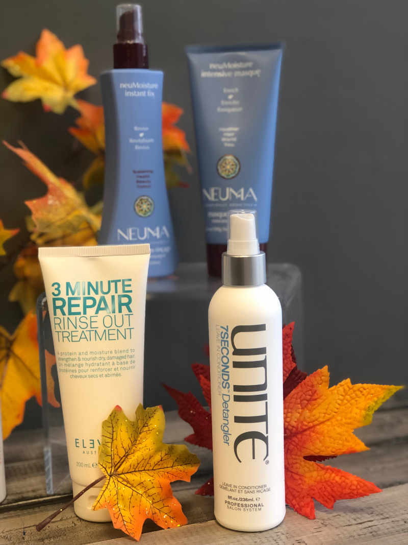 Treatment for No Dry Hair This Fall by Sharper Image Hair Design