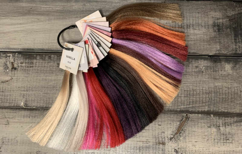 Maria Nila Hair Color Refresh Samples