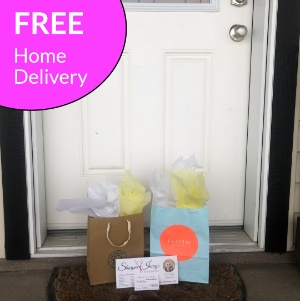 Free Home Delivery in Red Deer - $15 Shipping via Canada Post