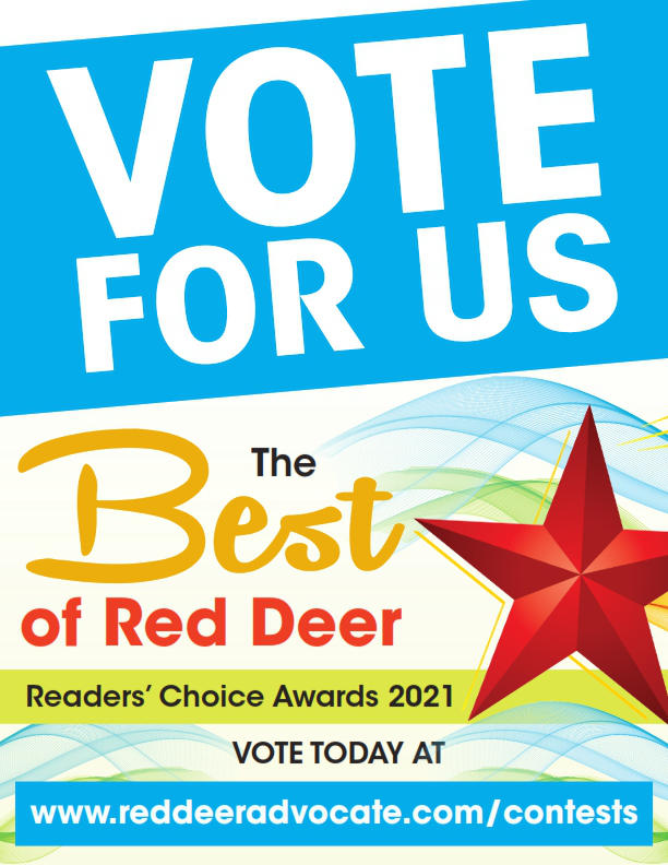 Best of Red Deer Vote Us Poster 2021_Sharper Image Hair Design