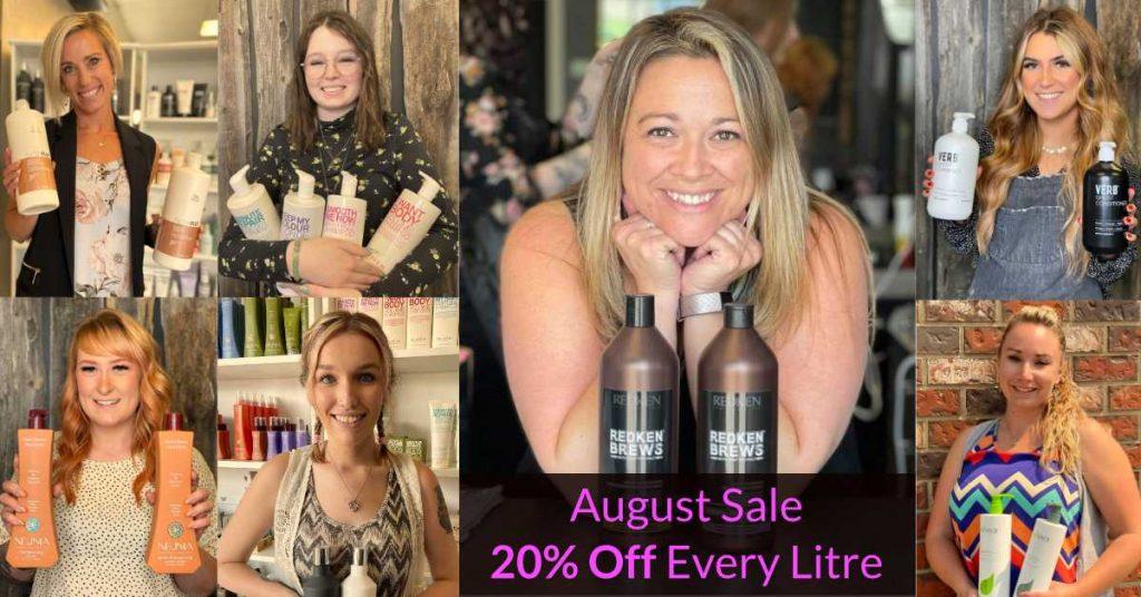 August 2021 Litre Sale - Sharper Image Hair Design Team